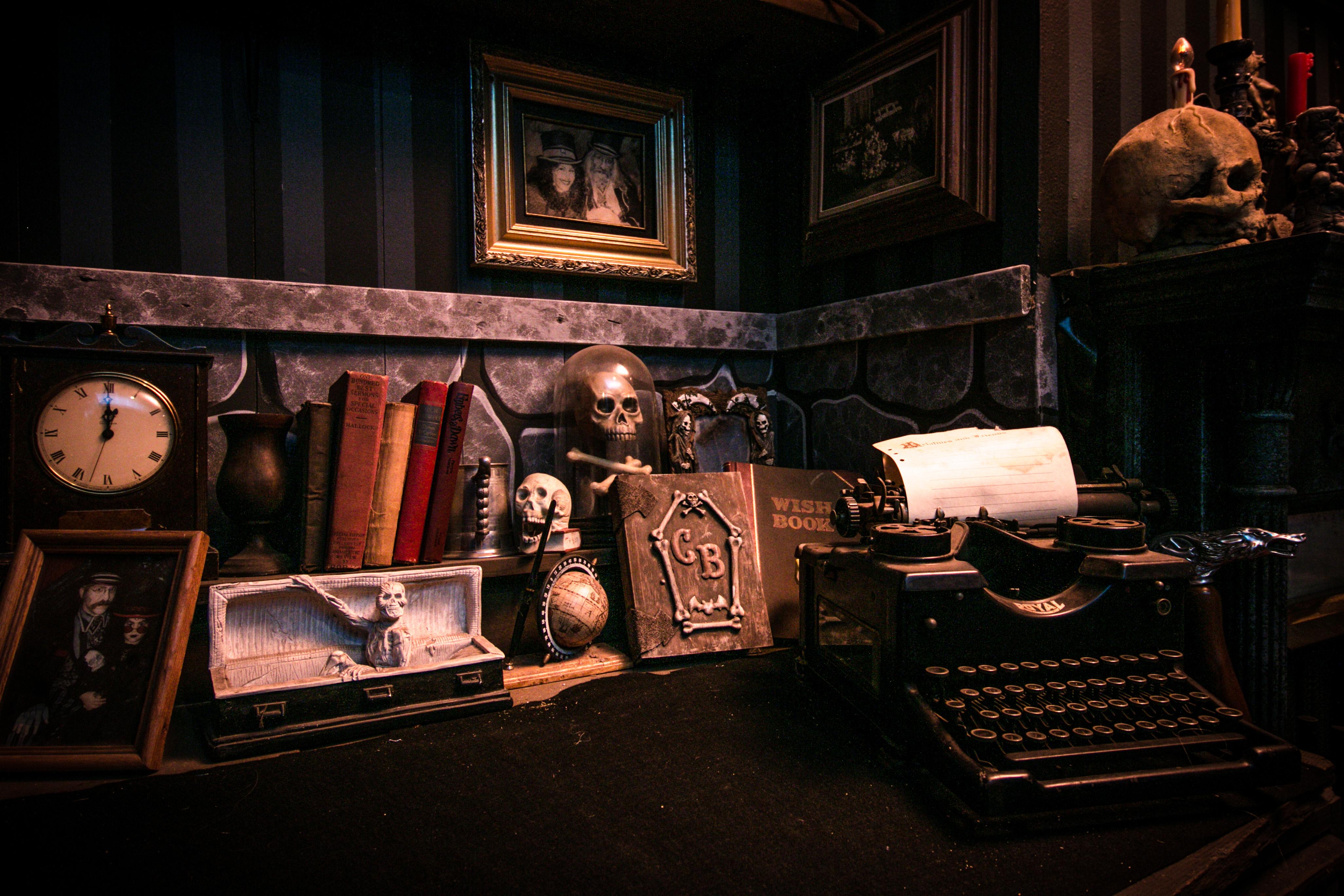 Castle Blood underakers office