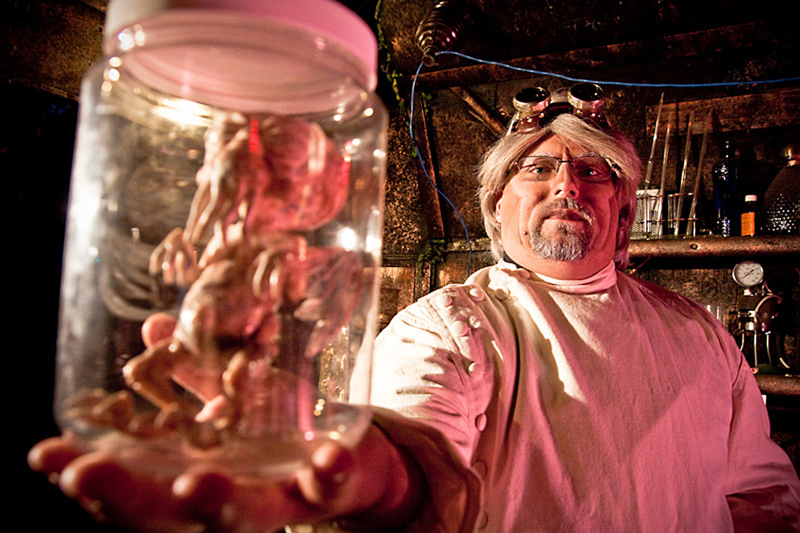 Mad Scientist Professer Scrye Castle Blood